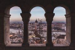 Nowy Rok postanowienie, podróżują bardziej! Pierwszy przerwa, Budapest! Zdjęcia Royalty Free