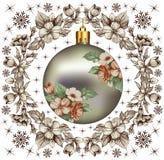 Nowy rok. Powitanie kartka bożonarodzeniowa. Fotografia Royalty Free