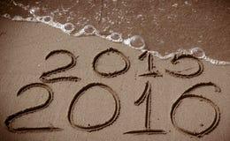 Nowy Rok 2016 przychodzi Zdjęcia Royalty Free