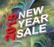 Nowy Rok sprzedaż 2015 Zdjęcia Stock