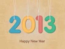 Nowy rok szczęśliwa tapeta ilustracja wektor