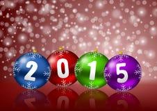 Nowy rok 2015 tła Zdjęcie Royalty Free