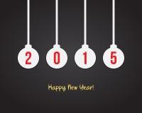 2015 nowy rok tło Zdjęcia Stock