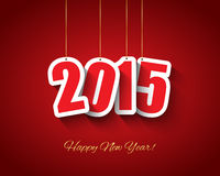 2015 nowy rok tło Obraz Royalty Free
