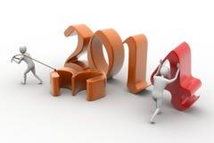 Nowy 2014 rok tło. Zdjęcia Royalty Free