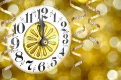 Nowy Rok Wigilia Fotografia Royalty Free