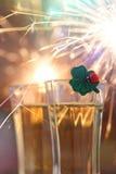 Nowy Rok wigilia Zdjęcie Royalty Free