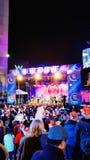 Nowy Rok wigilii Dallas, TX Zdjęcia Royalty Free