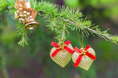 Nowy rok wigilii dekoracja Fotografia Royalty Free