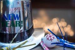 Nowy Rok wigilii przyjęcia kapeluszu Obraz Stock