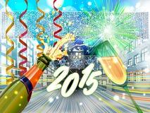 Nowy Rok wigilii tła Zdjęcie Stock