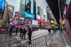 2015 nowy rok wigilii times square Fotografia Stock