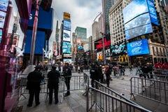 2015 nowy rok wigilii times square Obrazy Stock