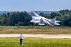 Nowy Rosyjski pokolenie wojownik T-50 Obraz Stock