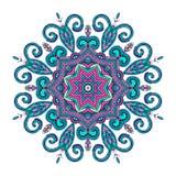 Nowy Round Mandala-09 Obrazy Royalty Free