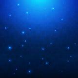 Nowy słodki Błękitny tło Obraz Royalty Free