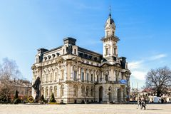 Free NOWY SACZ, POLAND - APRIL 02,2016: Historic City Centre Of Nowy Sacz. Town Hall Stock Images - 164709204