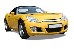 nowy samochód Fotografia Stock
