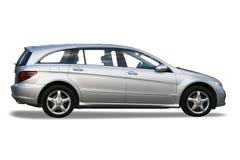 nowy samochód srebra zdjęcia royalty free