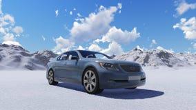 nowy samochód Zdjęcia Royalty Free