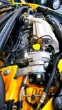 Nowy samochodowy silnik Fotografia Stock