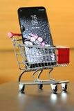 Nowy Samsung S8 Plus Zdjęcie Stock