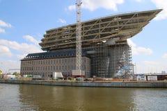 Nowy schronienia biuro, Havenhuis Antwerp/ Zdjęcia Stock