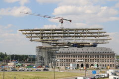 Nowy schronienia biuro, Havenhuis Antwerp/ Fotografia Royalty Free