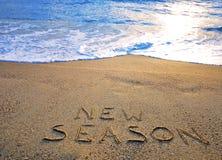Nowy sezonu znak Fotografia Stock