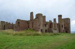 Nowy Slains kasztel, Aberdeenshire, Szkocja fotografia stock