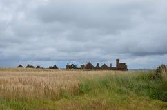 Nowy Slains kasztel, Aberdeenshire, Szkocja zdjęcia royalty free