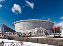 Nowy stadium dla 2018 światowych mistrzostw Obrazy Stock