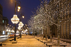 Free Nowy Swiat (New World) Street In Warsaw. Poland Royalty Free Stock Photography - 64093097