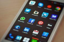 nowy telefon Obrazy Stock