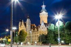 Nowy Townhall Leipzig obrazy royalty free