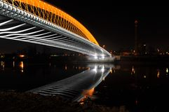 Nowy Troja most Zdjęcia Stock