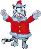 nowy tygrysa wektoru rok Obraz Royalty Free