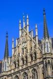 Nowy urząd miasta, Monachium, Bavaria, Niemcy Obrazy Stock
