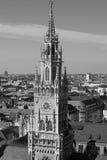 Nowy urząd miasta, Monachium, Bavaria, Niemcy Obraz Royalty Free