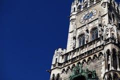 Nowy urząd miasta w Monachium (Neues Rathaus) Zdjęcia Stock