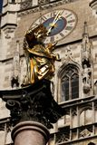 Nowy urząd miasta w Monachium (Neues Rathaus) Obraz Royalty Free