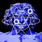 Nowy Vitruvian mężczyzna zdjęcia royalty free