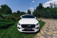 Nowy 2018 Volvo XC60 samochód Zdjęcia Royalty Free