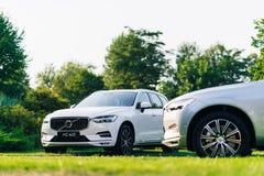 Nowy 2018 Volvo XC60 samochód Zdjęcia Stock
