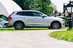 Nowy 2018 Volvo XC60 samochód Zdjęcie Stock