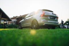 Nowy 2018 Volvo XC60 samochód Obraz Stock