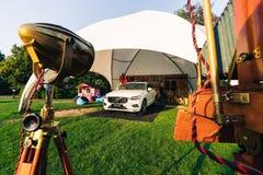 Nowy 2018 Volvo XC60 samochód Fotografia Royalty Free