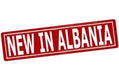Nowy w Albania Obrazy Stock