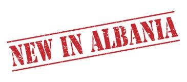 Nowy w Albania znaczku Obrazy Stock