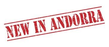 Nowy w Andorra znaczku Obraz Stock
